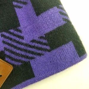 Nike Accessories - Nike Purple Black 6.0 Skateboarding Beanie